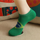 Men's National Flag Printed Sports Casual Cotton Summer Socks Low Cut Ankle Boat