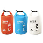 2 5L Sports Waterproof Dry Bag Backpack Floating Boating Kayaking Camping Hiking