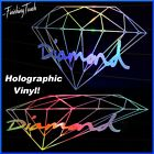 Holographic Diamond Supply co Vinyl Decal Oil Slick skateboard snowboard graphic