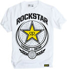 Factory Effex Licensed Rockstar Imperial T-Shirt White Mens All Sizes