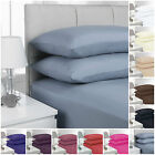 """EXTRA DEEP FITTED PERCALE SINGLE, DOUBLE, KING SUPER KING SHEETS SIZE 16""""/40 CM  image"""