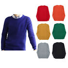 JEME Men's Round Crew Neck Waffle Knit Pullover Casual Sweater [Made in Korea]
