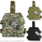 ADJUSTABLE MOLLE DROP LEG PLATFORM TACTICAL HOLDER POUCH MILITARY HUNTING