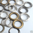 Pack 5 Sets 40mm Extras Large Size Round Curtains Eyelet Grommets w/Washers UK