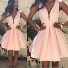 CHIC Sexy Women Summer Casual Sleeveless Party Evening Cocktail Short Mini Dress