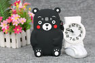 Hot 3D Cartoon Bear Soft Silicone Case Cover For iPhone/Samsung/Huawei/HTC/Other