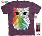 OWL 3 COLORWEAR ADULT T-SHIRT THE MOUNTAIN