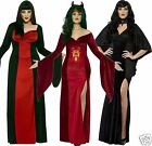 Curves Vamp Devil Temptress Sexy Halloween Fancy Dress Costumes size up to 30