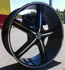 22 INCH U255 BM RIMS AND TIRES 5X127 IMPALA SS CAPRICE GRAND CHEROKEE C10