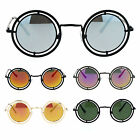 SA106 Victorian Steam Punk Double Frame Round Circle Lens Sunglasses