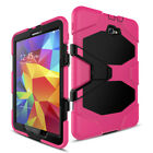 Hybrid Rugged Hard Stand Cover Rubber Case For Samsung Galaxy Tab A 10.1''T580