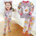 "Vaenait Baby Infant Toddler Kids Girls Clothes Pajama Set ""Daisy Cat"" 12M-7T"