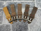 New 22mm Genuine Leather Strap Brown Tang Assolutamente Watch Band BREITLING 22