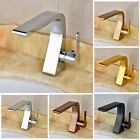 Bathroom Basin Sink Single Handle Mixer Tap Deck Mounted Sink Faucet