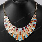 1x Hot Collar Choker Link Chain Bib Statement Necklace Pendant Jewelry Gift