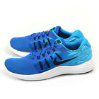 Nike Lunarstelos Hyper Cobalt/Black-Blue Glow-White Running Shoes 844591-400