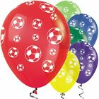 FOOTBALL BALLOONS - Choose quantity - HELIUM QUALITY QUALATEX  PARTY DECORATIONS