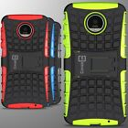 For Motorola Moto Z Force Droid Case Hard Protective Kickstand Phone Cover