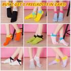 Autumn Womens Cotton Sports Five Finger Socks Casual Toe Breathable Ankle Socks