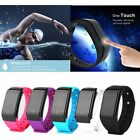 Waterproof Smart Wristband Heart Rate Monitor Pressure Meter For IOS & Andriod