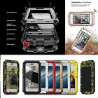 Shockproof Military Heavy Duty Gorilla Glass Metal Cover Case for iPhone 6...