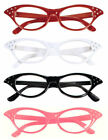 50s glasses + scarf variations red black red whitefancy dress poddle grease fun