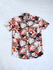 Superdry South Bank Surf Short Sleeve Shirt  Orange./navy starburst