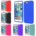 For iPhone 7 Thin Silicone Skin Rubber Cover Case
