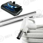 Powerful!! Central Vacuum System 30' Electric Hose Powerhead Attachment Kit Beam