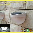 6LED Solar Power Motion Sensor Wall Light Waterproof Outdoor Garden Fence Lamp