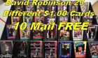 DAVID ROBINSON _23 Different Oddball Cards $1.00 Each_ 10 + Mail FREE in USA