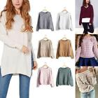 Fashion Women Long Sleeve Knitted Sweater Autumn Winter Loose Pullover Outwear