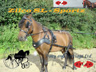 Zilco SL Sportz Shetland - Small Pony Horse Harness Single - Pair - Team