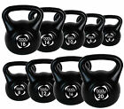 Vinyl Kettlebell Strength Training Home Gym Fitness Dumbbells Kettlebells