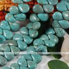 """13*18mm Turquoise Gemstone Loose Bead For Charm DIY Fashion Findings 16"""""""