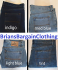 EX M&S COLLECTION MENS REGULAR FIT JEANS MARKS AND SPENCER THREE COLOURS BNWOT