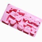 Silicone Whistle Fire Hydrants Fire Extinguishers Chocolate Ice Tray Cake Mold