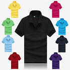 Cotton Polo Tee Casual Men's Hot Slim Fit Sports T Shirt Short Sleeve T Shirt