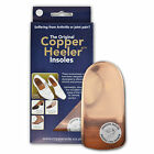 Copper Heelers Arthritis Pain Relief Insoles & Free Leather Insoles - All Sizes