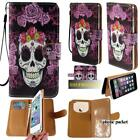 Flip Wallet Card Stand Leather Case Cover For Apple iphone 3/4/5/6/7 ipod 4/5/6