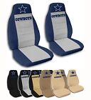 Fits Chevy Cruze 2 Front Dallas Cowboys Velvet Seat Covers 10 Color Options on eBay