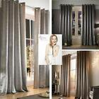 Adelphi Lined Eyelet Curtains by Kylie Minogue At Home ... Sumptuous Velvet