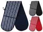 DOUBLE KITCHEN OVEN MITTS GLOVES baking cooking  glove
