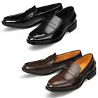 Mooda Mens Leather Loafer Shoes Casual Formal Lace up Dress Shoes Vella UK