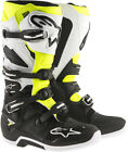 Alpinestars Tech 7 Offroad Motocross Boots Black/White/Yellow Mens
