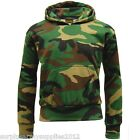 KIDS ARMY FLEECE HOODIE CAMO BOYS GIRLS CAMOFLAUGE AIRSOFT GAME