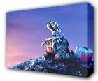 WALL-E LOOKING AT STARS - GICLEE CANVAS ART