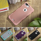 ULAK Dual Layer Rugged Shock Absorbent Hard Case Cover for iPhone 7 Plus