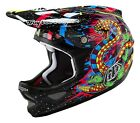 Troy Lee Designs 2016 D3 Carbon Blacklight Black Helmet Adult All Sizes