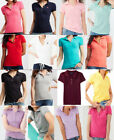 NWT AEROPOSTALE Aero Womens A87 Pique Polo Shirt Uniform XS S M L XL XXL
